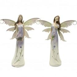 Set fialových anjelov