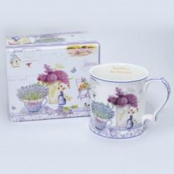 Šálka Lavender Garden v krabičke