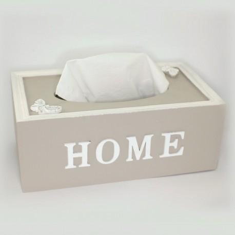 """Krabička na servítky """"Home"""""""