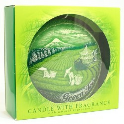 Sviečka Green Tea disk v krabičke