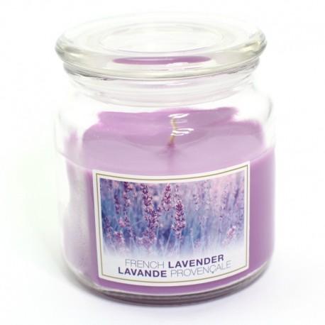 Sviečka French Lavender v skle