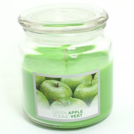 Sviečka Green Apple v skle