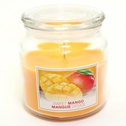 Sviečka Sweet Mango v skle