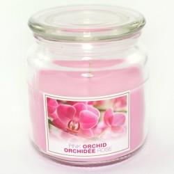 Sviečka Pink Orchid v skle